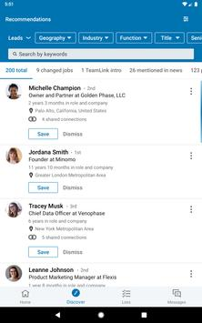 LinkedIn Sales Navigator screenshot 9