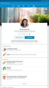 LinkedIn captura de pantalla 5
