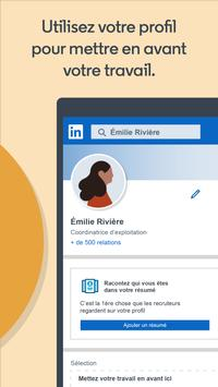 LinkedIn capture d'écran 4