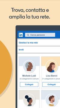 2 Schermata LinkedIn