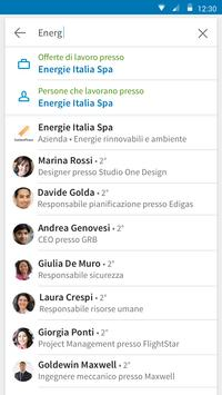 4 Schermata LinkedIn