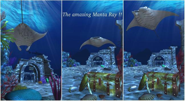 Live Wallpaper - 3D Ocean : World Under The Sea स्क्रीनशॉट 18