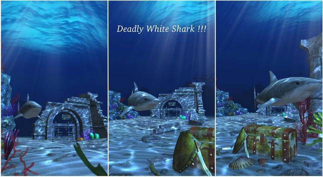 Live Wallpaper - 3D Ocean : World Under The Sea स्क्रीनशॉट 19