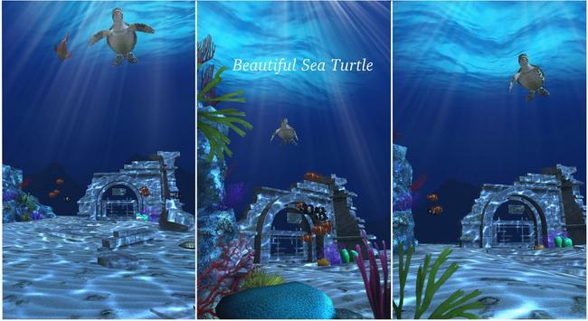 Live Wallpaper - 3D Ocean : World Under The Sea स्क्रीनशॉट 21