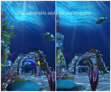 Live Wallpaper - 3D Ocean : World Under The Sea स्क्रीनशॉट 23