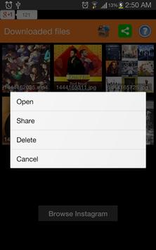 Video Downloader für Instagram Screenshot 5