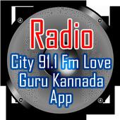 Radio City 91.1 Fm Love Guru Kannada App icon