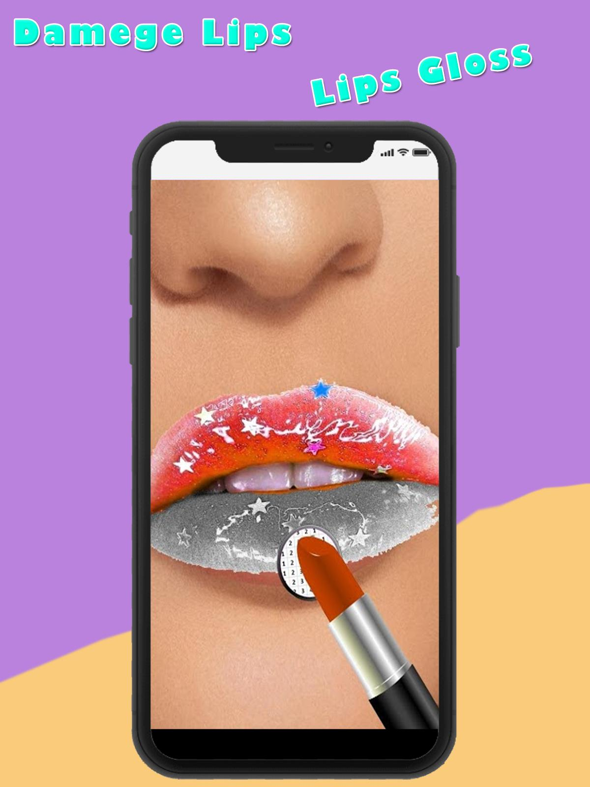 Lip Art 3d Lips Done Gifmaker Art For Android Apk Download