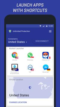 Rocket VPN screenshot 1