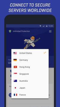 Rocket VPN screenshot 2