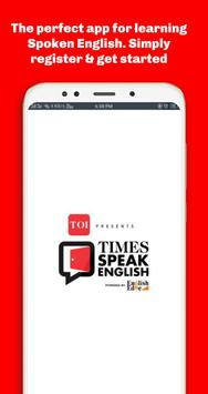 Times Speak English poster