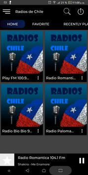 Radios de Chile poster