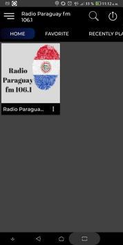 Radio Paraguay fm 106.1 poster