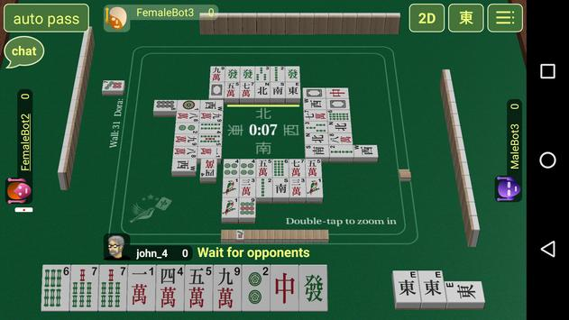 Red Mahjong poster