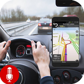 Voice Gps Navigation & Maps Tracker icon