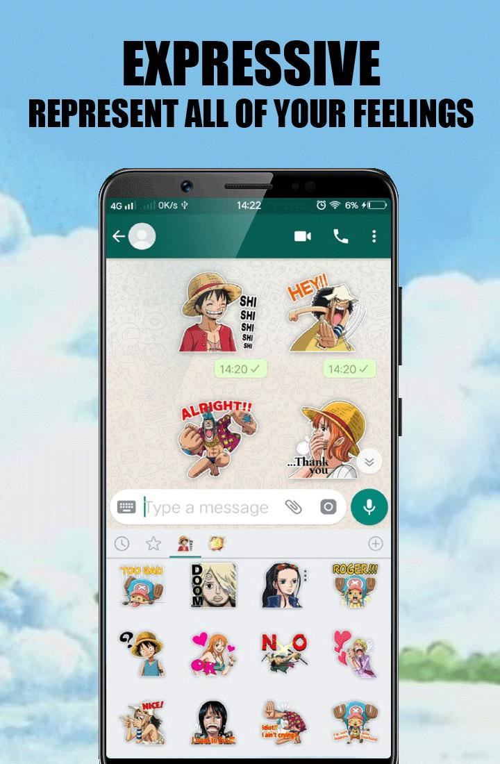 Monkey D Luffy Sticker For Wa Wastickerapps For Android Apk Download