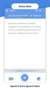 Lithuanian Voicepad - Speech to Text screenshot 3