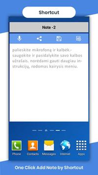 Lithuanian Voicepad - Speech to Text poster