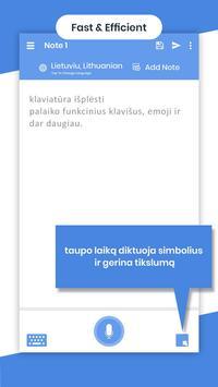 Lithuanian Voicepad - Speech to Text screenshot 4