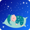 White Noise Baby Sleep: Lullaby Songs Offline App icon