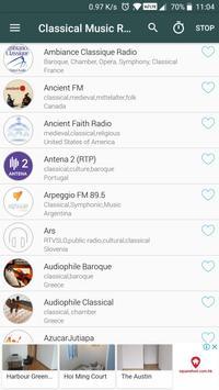 Classical Music Radio poster