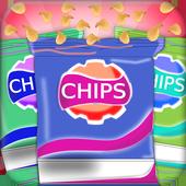 Potato chips factory – Restaurant kitchen chef icon