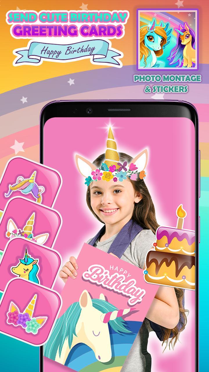 Poni Kecil Unicorn Editor Foto For Android Apk Download