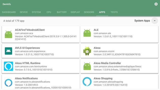 Device Info - One Application, All Information. screenshot 8