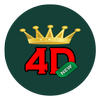 4D King v2 Live 4D Results-icoon