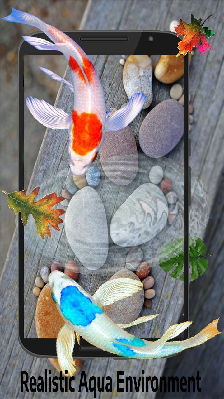 Fish 3d Live Aquarium Wallpaper 2019 Koi Wallpaper For
