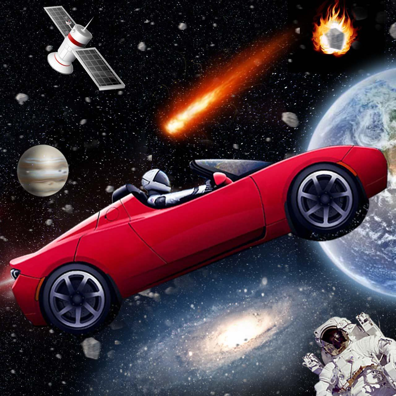 Tesla Roadster Theme Live Wallpaper For Android Apk