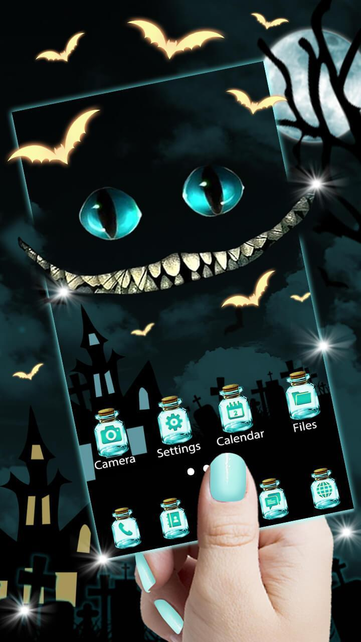 Cheshire Devil Cat Themes HD Wallpapers 3D Icons For Android