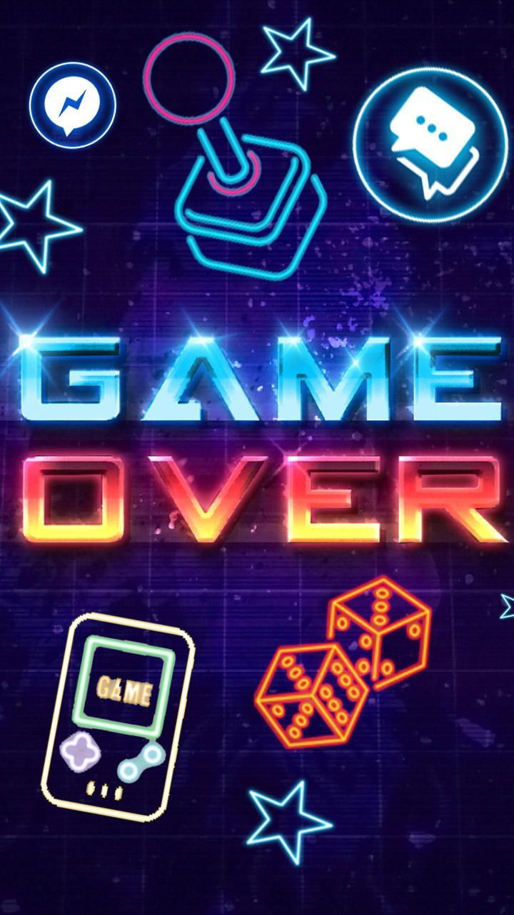 Neon Game Over Themes Live Wallpaper For Android Apk Download