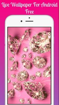 Pink glitter Live Wallpaper 2019 Pink glitter LWP poster