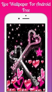 Pink glitter Live Wallpaper 2019 Pink glitter LWP screenshot 6
