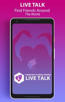 Live Talk poster