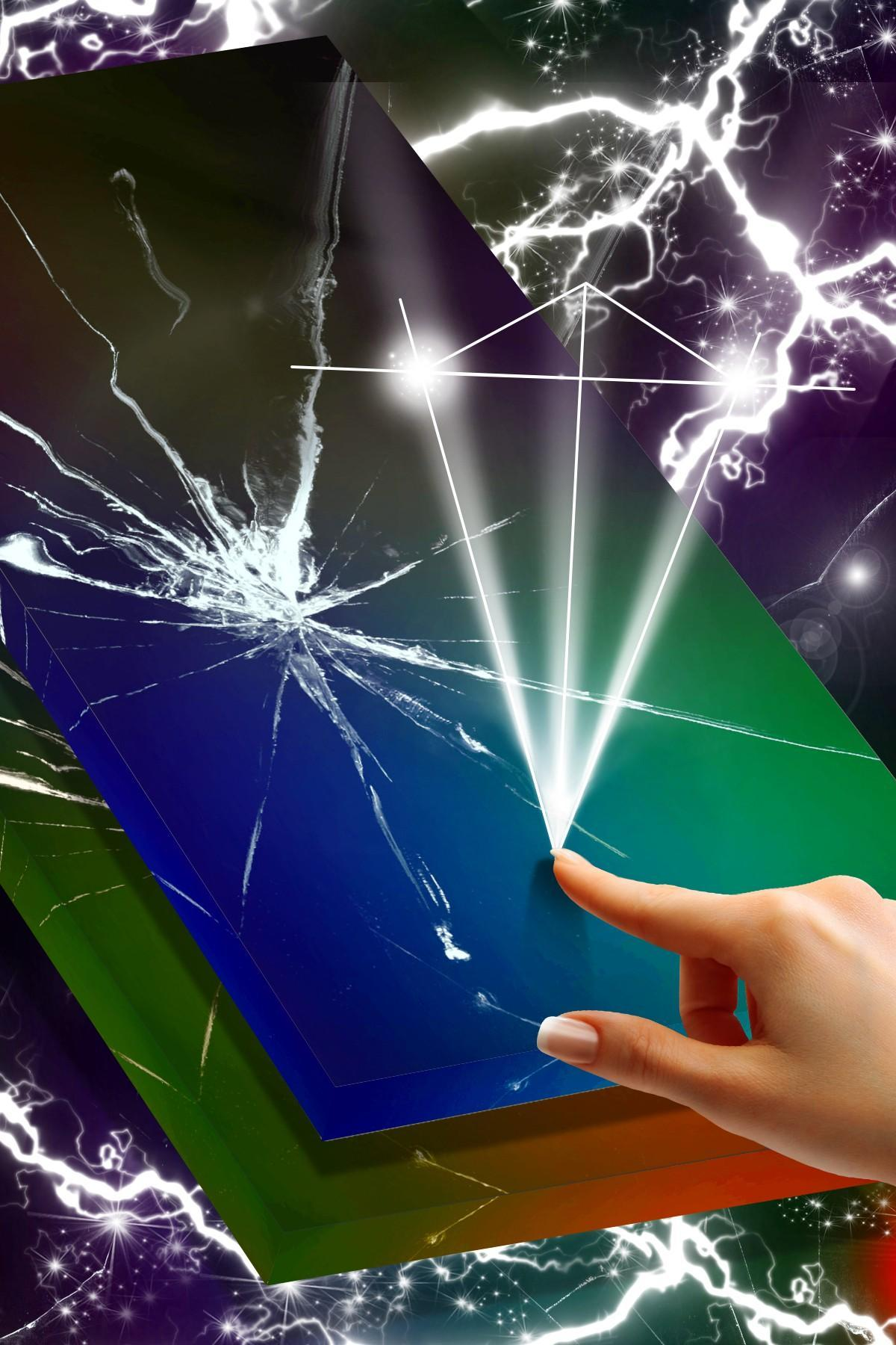 Cracked Screen Prank Animated Wallpaper für Android - APK ...