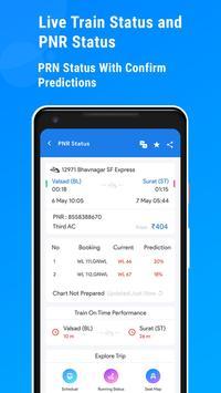 Live Train Status, PNR Status : Railway Info screenshot 3