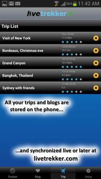 LiveTrekker screenshot 2