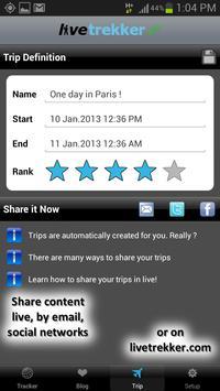 LiveTrekker screenshot 3