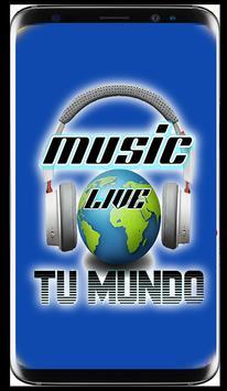 Music Live - Tu mundo poster