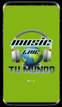 Music Live - Tu mundo ポスター
