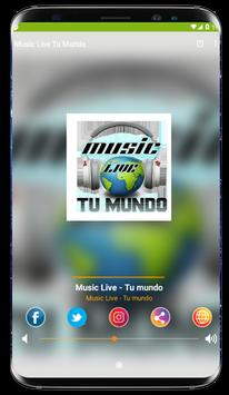 Music Live - Tu mundo screenshot 1