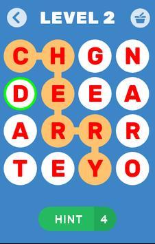 Find Words Game - Find Fruits & Vegetables Name poster