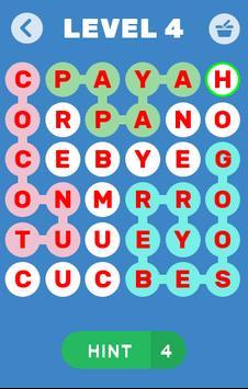 Find Words Game - Find Fruits & Vegetables Name screenshot 2