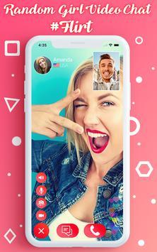 Live Video Chat - Random Video Call with Girls تصوير الشاشة 1