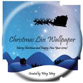 2014 Christmas Live Wallpaper icon