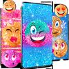 Icona Emoji glitter live wallpaper