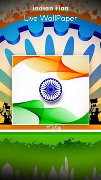 India Flag Live Wallpaper screenshot 1