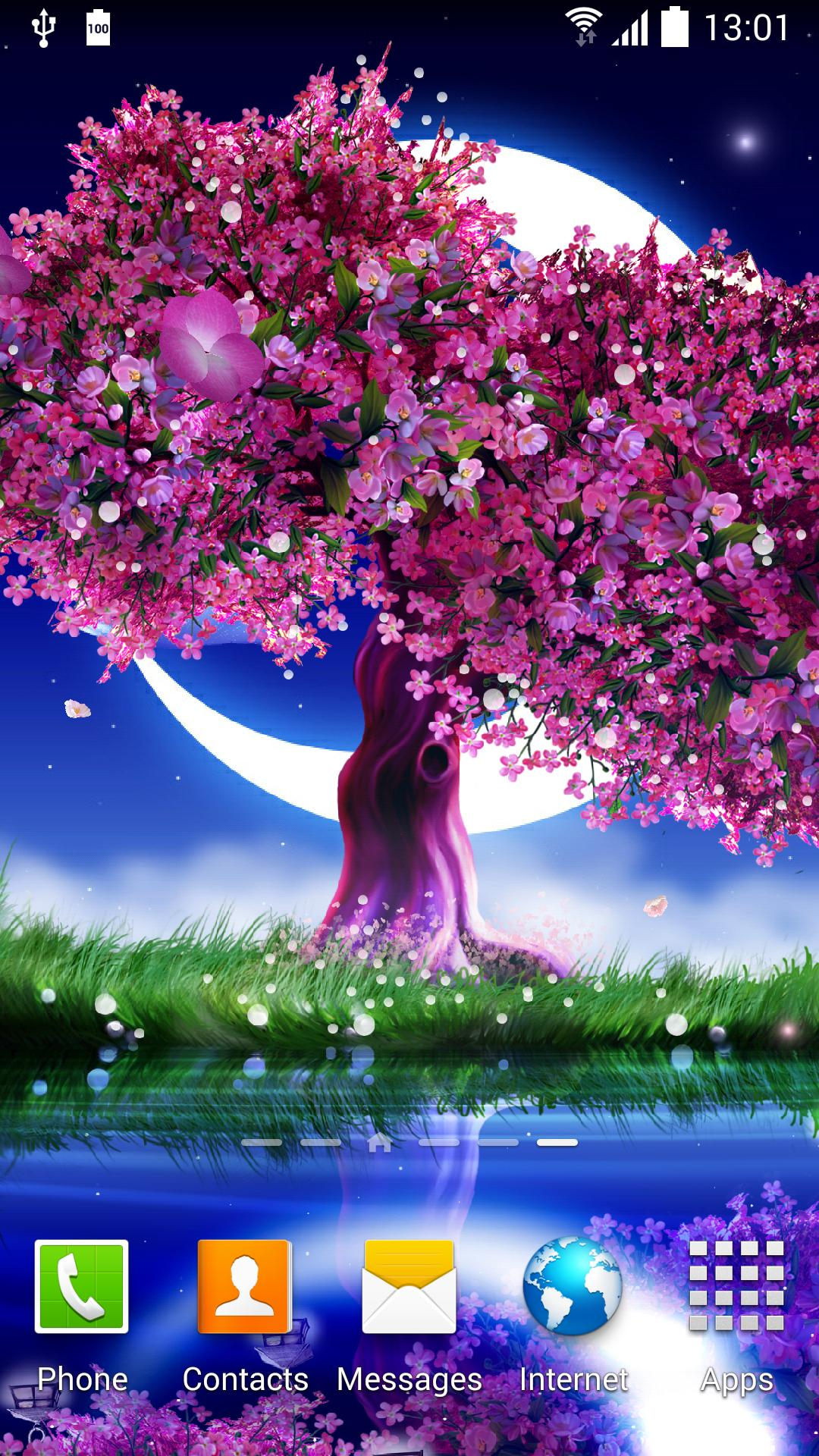 Cherry Blossom Live Wallpaper For Android Apk Download